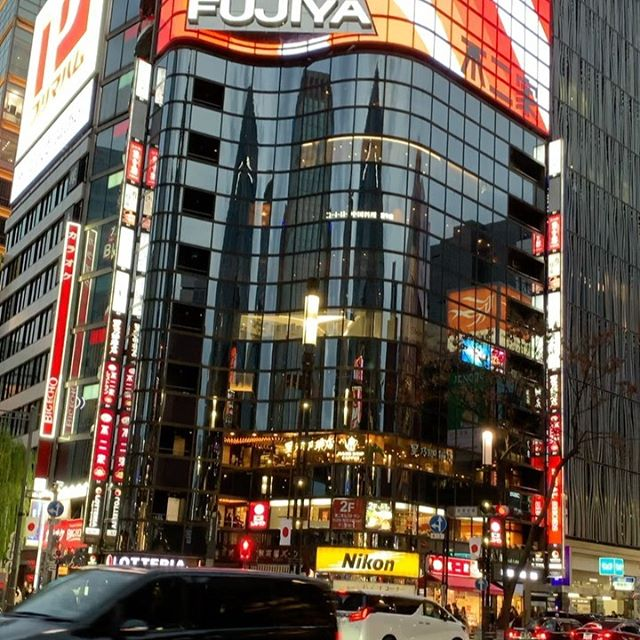 Came to busy #Ginza