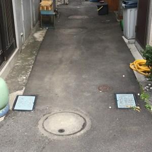 下水の私設管