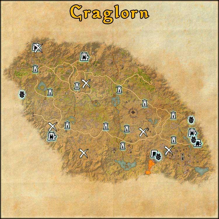 Mapa de Time Rifts de Craglorn