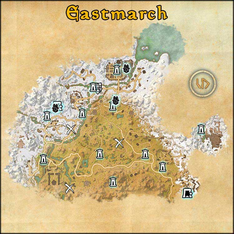 Mapa de Time Rifts de Eastmarch