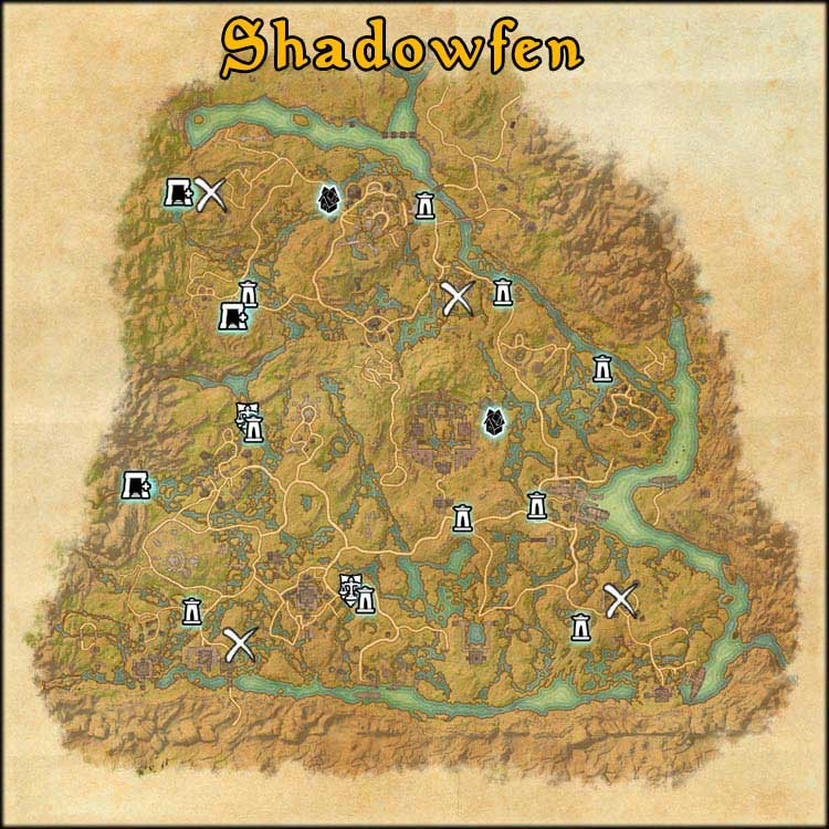 Mapa de Time Rifts de Shadowfen