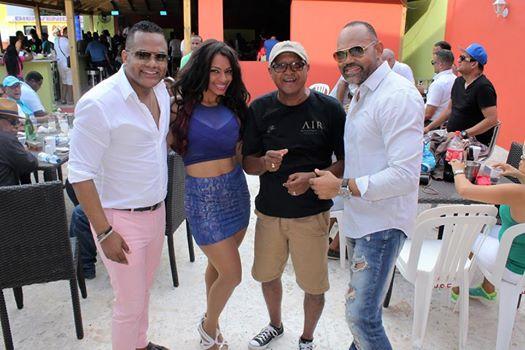 Alex Matos, Shannia, Tony Brito y Félix Manuel.
