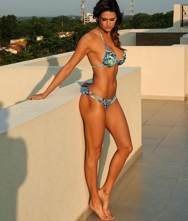 Leryn Franco, atleta paraguaya especializada en la prueba de lanzamiento de jabalina. Además es modelo, actriz y conductora de televisión. Retirada hace dos años, fue seleccionada por su país para llevar la Antorcha Olímpica de Río.