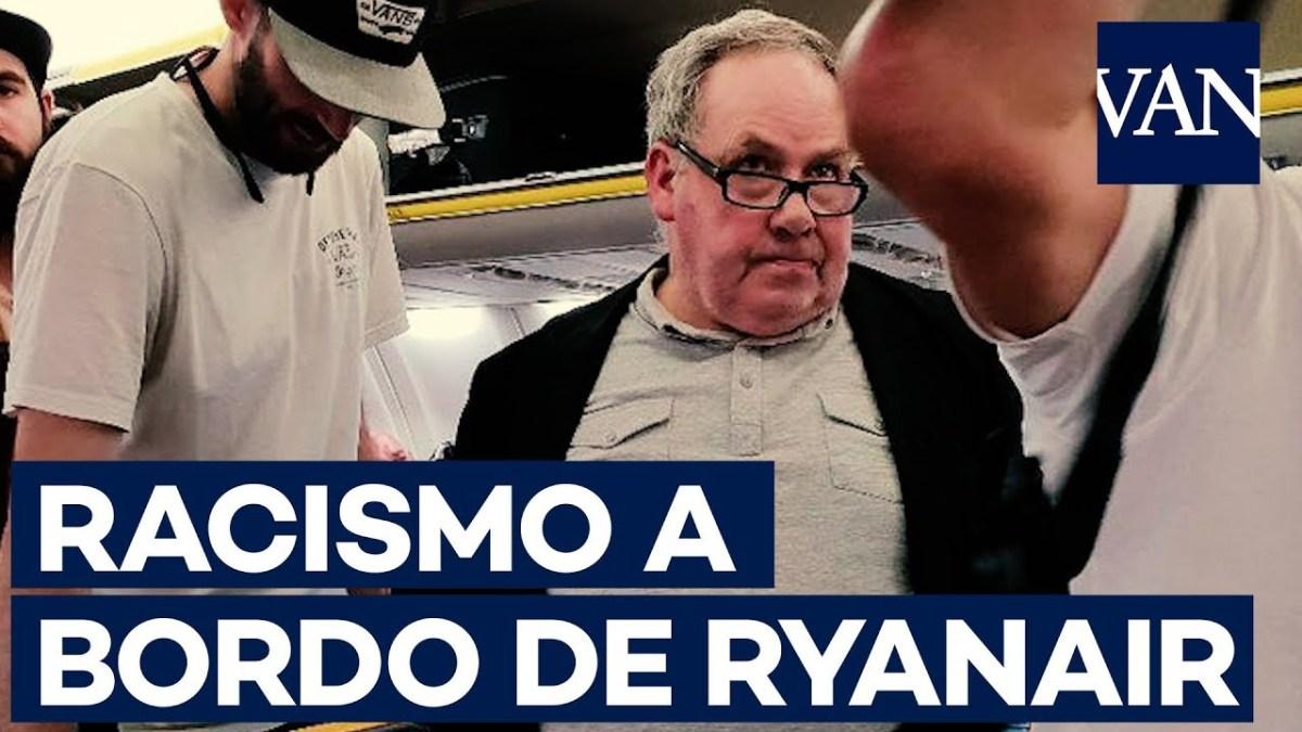 VIDEO: Ataque racista contra una mujer negra en avión de Ryanair