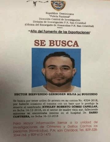 Policía Nacional busca acusado de matar joven con bate en San Cristóbal
