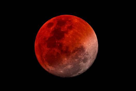 Habrá cielo mayormente despejado para observar eclipse lunar