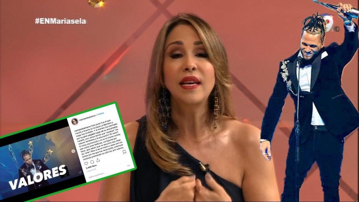 VIDEO: Mariasela Álvarez denuncia que ha recibido amenazas tras comentario sobre El Alfa
