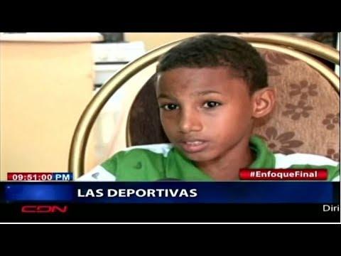Niño de Santiago que impresionó a Lebron James se convierte en una celebridad