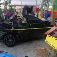 """Fallecidos en accidente La Vega habrían salido a """"dar una vuelta"""" sin el consentimiento de sus padres"""