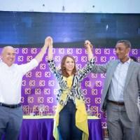 Dominguez Brito endosa toda su estructura política a Karen Ricardo en Santo Domingo Este