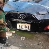 Mueren cinco jóvenes al estrellarse carro en que viajaban en La Vega