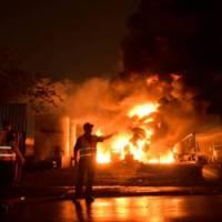 Fuerte explosión en empresa de combustibles en SDO; evacuan residentes zona afectada