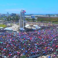 EN FOTOS: lo que pasó en El Trabucazo 2020 en la Plaza de la Bandera