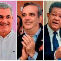 Encuesta CID dice habrá segunda vuelta; da a Gonzalo 41%, a Luis 39% y a Leonel un 10%