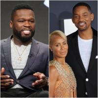 "50 Cent se burla de Will Smith por la ""infidelidad"" de Jada y el actor lo insultó"