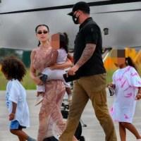 Kim Kardashian y Kanye West salen de República Dominicana tras breves vacaciones