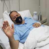 Ingresan a Franklin Mirabal en centro médico a causa del COVID-19