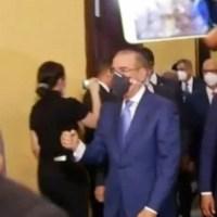 VIDEO: Así se despidió Danilo de sus empleados en el Palacio Nacional