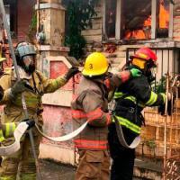 Mujer muere carbonizada al incendiarse vivienda en Puerto Plata