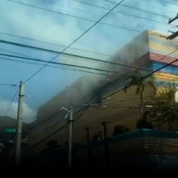 Sin víctimas fatales fuego hotel de SDE; no se sabe qué lo ocasionó