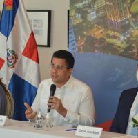 David Collado anuncia harán concurso para el diseño de otro logo Marca País