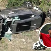 Tiger Woods, hospitalizado tras un grave accidente de auto