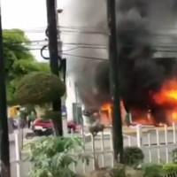 Incendio afecta Farmacia Los Hidalgos de la Lincoln