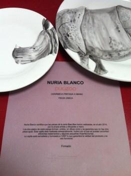 Vajilla Duo Zoo - Nuria Blanco