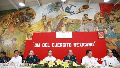 Reconoce Gobernador aportación del Ejército Mexicano