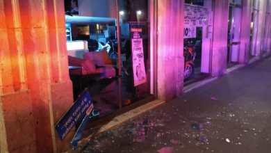 Destroza ladrón cristal de la fachada de Salinas y Rocha