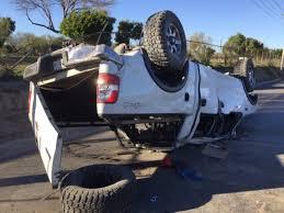 Vuelca camioneta en Guerrero; 1 muerto y 5 heridos