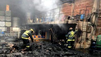 Devora fuego bodega en Ciudad Industrial