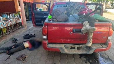 Fallecen 3 al enfrentar a tiros a soldados en Ixtaro