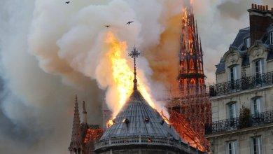 ISe incendia la Catedral de Notre Dame