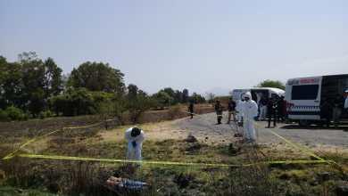 Encuentran un ejecutado en una brecha de Indaparapeo