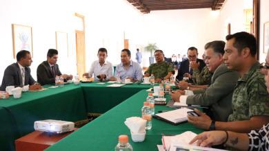 Acuerdan Federación y Estado reforzar acciones conjuntas en materia de seguridad