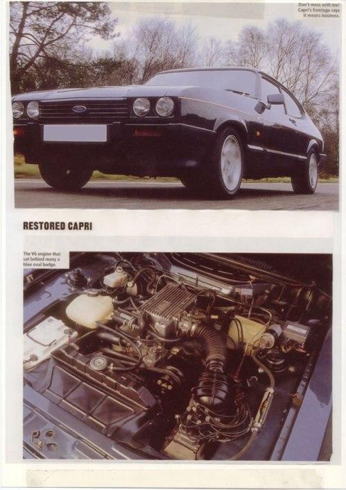 Ford Capri V6