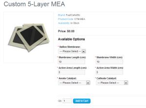 Custom MEA Calculator