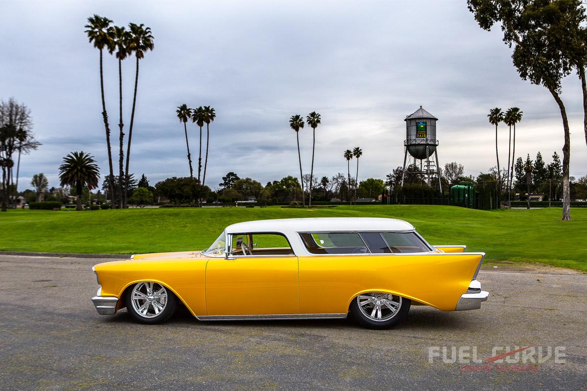 1957 Chevy Bucket Seats Car