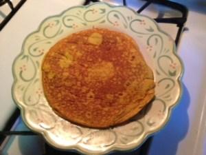 Pumpkin Protein Pancake