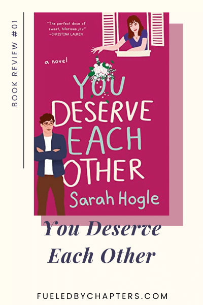 book review you deserve each other
