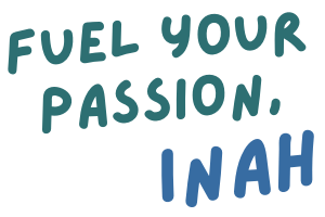 fuel your passion, inah sign off image