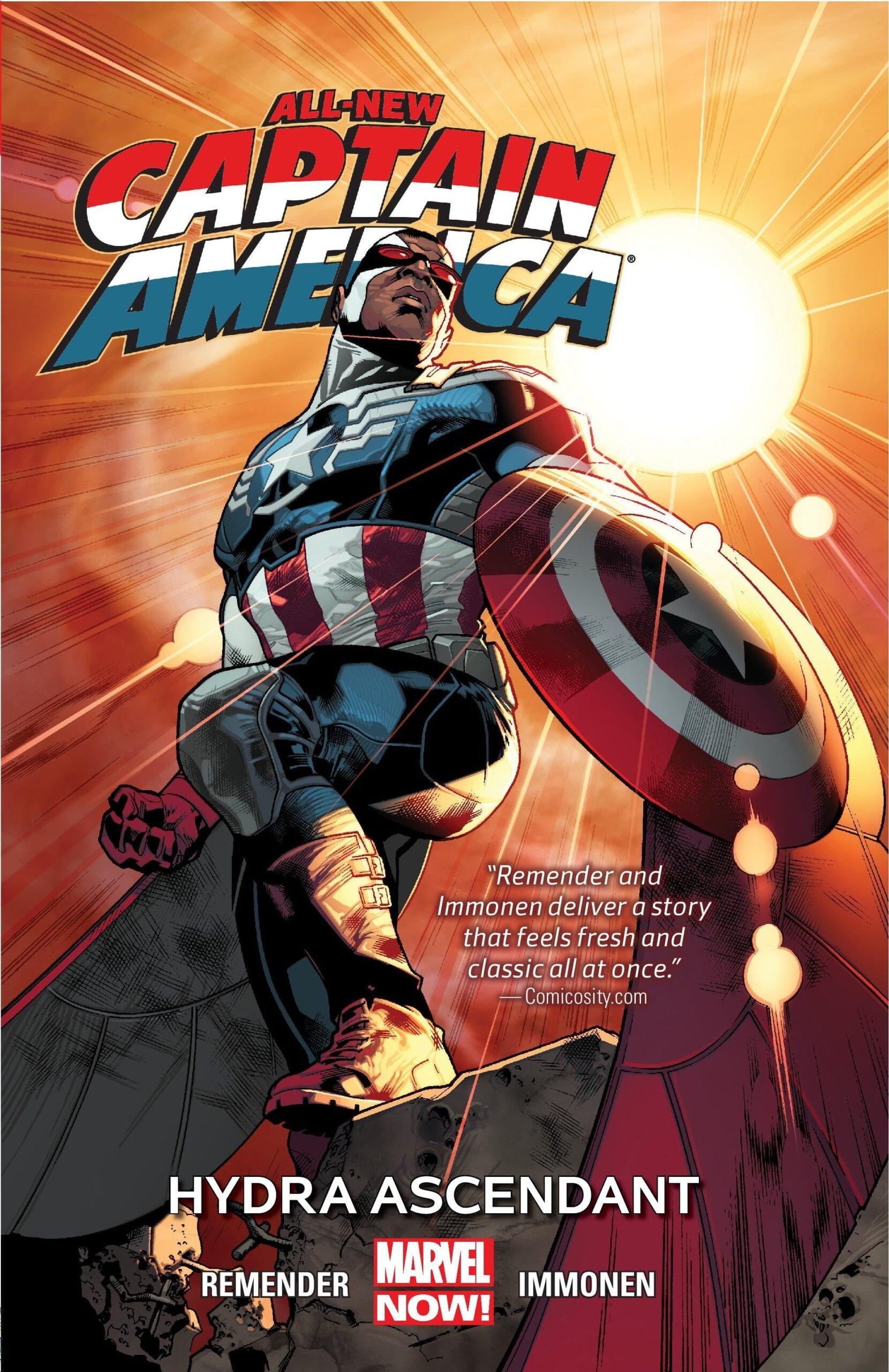 all new captain america
