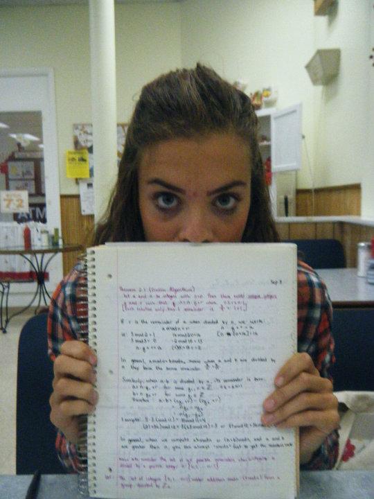I love you linear algebra.