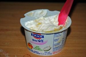 I consume a lot of yogurt