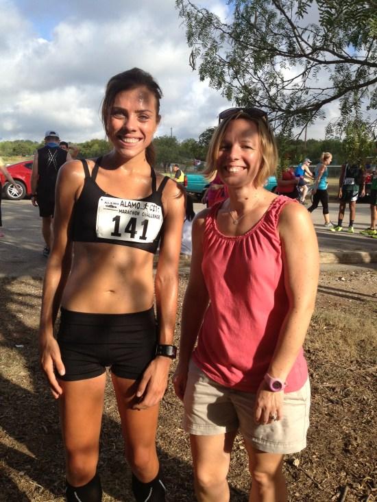 Stephanie and I (post race)