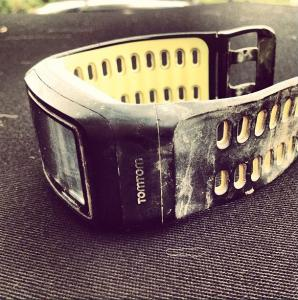 Here is my watch.  It is dirty
