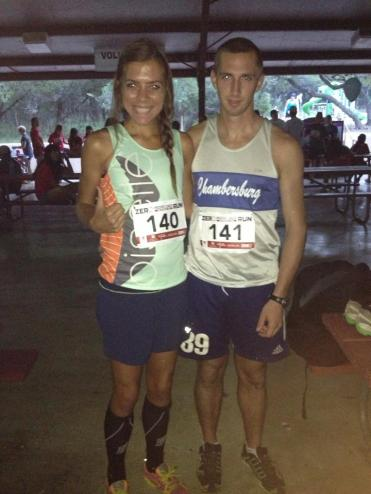 Running races with my husband