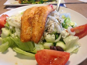 Princetonian Diner salad