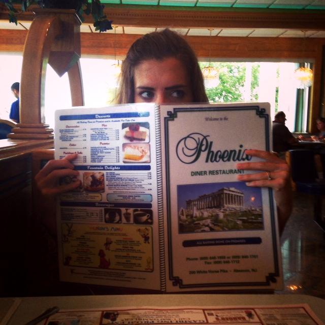 Phoenix Diner menu